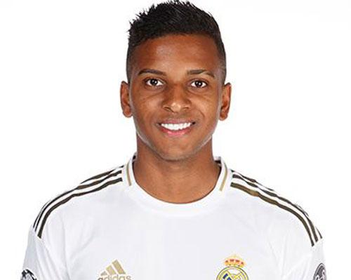 1. Rodrygo Goes (Real Madrid). Ảnh: Real Madrid FC.