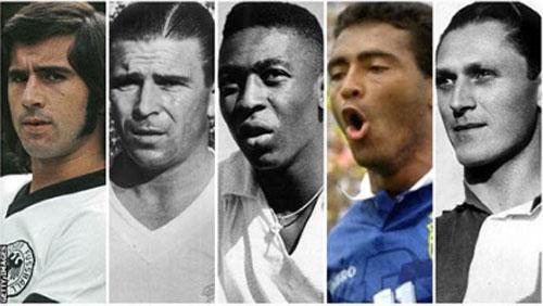 """Top 10 """"sát thủ"""" săn bàn xuất sắc nhất lịch sử bóng đá thế giới"""