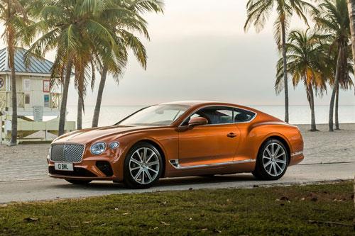4. Bentley Continental GT.