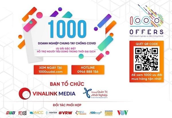 Kết nối và hỗ trợ 1.000 doanh nghiệp vượt Covid