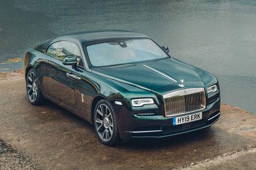 7. Rolls-Royce Wraith.