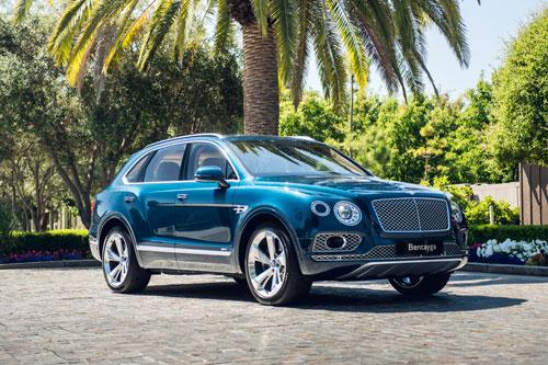 8. Bentley Bentayga.