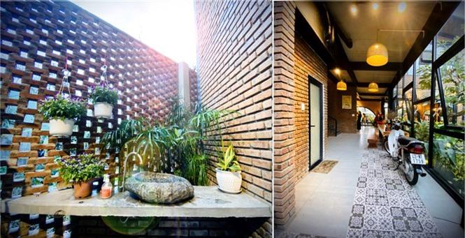 Ngôi nhà kết hợp quán cafe đẹp lạ nhờ nghệ thuật xếp gạch gây mê - ảnh 10