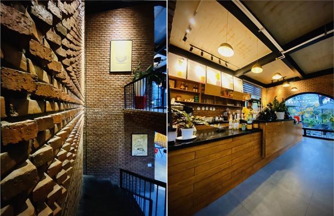 Ngôi nhà kết hợp quán cafe đẹp lạ nhờ nghệ thuật xếp gạch gây mê - ảnh 5