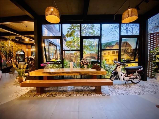 Ngôi nhà kết hợp quán cafe đẹp lạ nhờ nghệ thuật xếp gạch gây mê - ảnh 6
