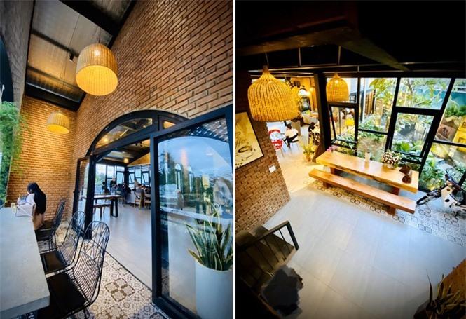 Ngôi nhà kết hợp quán cafe đẹp lạ nhờ nghệ thuật xếp gạch gây mê - ảnh 9