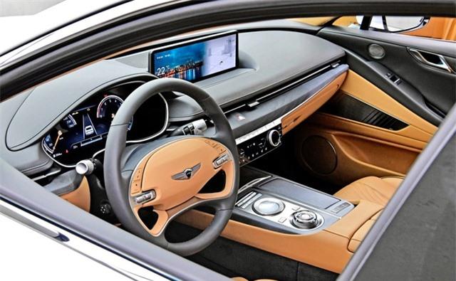 Soi chi tiết sedan hạng sang Genesis G80 mới - 21