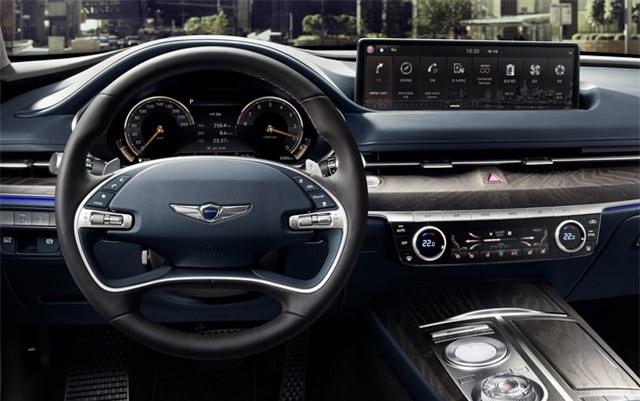 Soi chi tiết sedan hạng sang Genesis G80 mới - 27