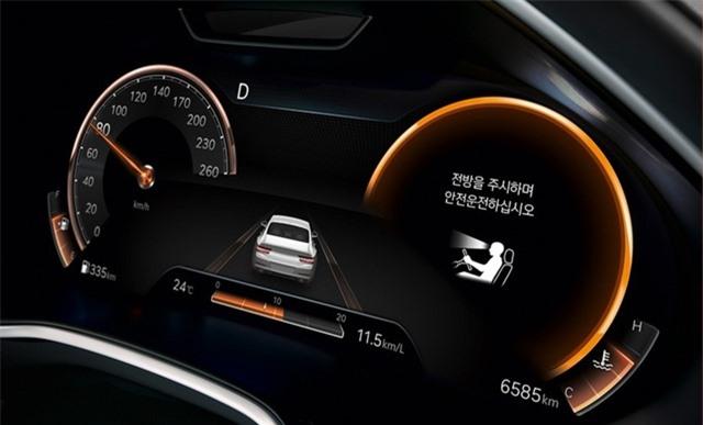 Soi chi tiết sedan hạng sang Genesis G80 mới - 33
