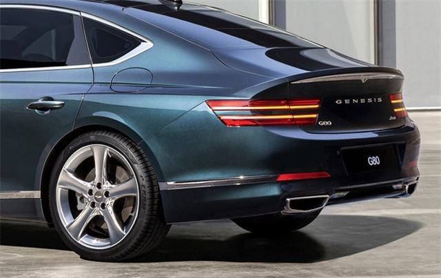 Soi chi tiết sedan hạng sang Genesis G80 mới - 8