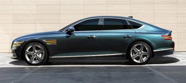 Soi chi tiết sedan hạng sang Genesis G80 mới - 9