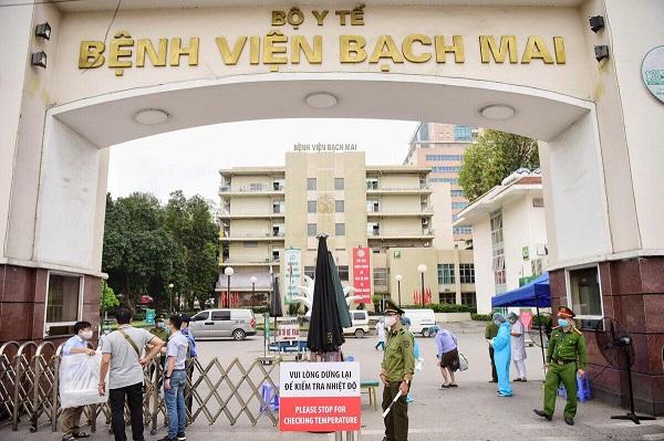 Bệnh viện Bạch Mai  phải cách ly chống dịch Covid-19