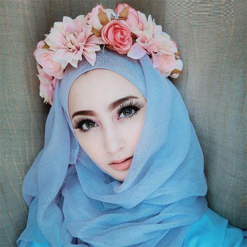 Nhan sắc gây sốt của búp bê barbie người Hồi giáo