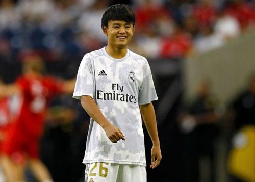 9. Takefusa Kubo (Real Madrid). Ảnh: 90min.