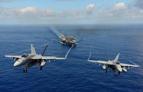 Tiêm kích F/A-18E/F.