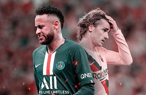 Barca muốn đổi Griezmann lấy Neymar.