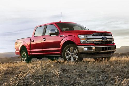 2. Ford F-Series (doanh số: 149.200 chiếc).