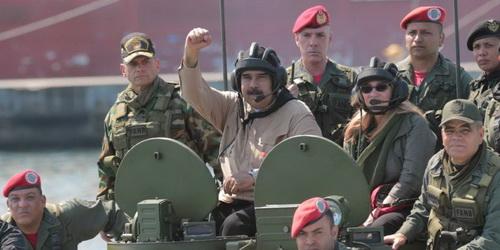 Tổng thống Venezuela Nicolas Maduro. Ảnh: TASS.