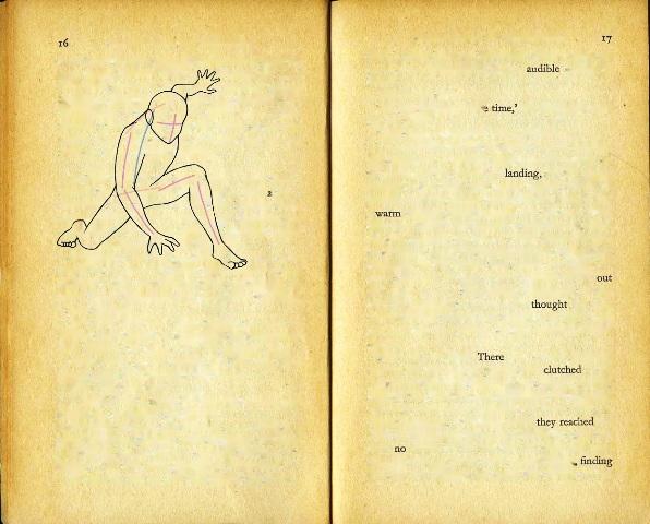 Phiên bản thơ do cỗ máy đọc sách tạo nên từ trang 16-17 của cuốn Bữa sáng ở Tiffany's của Truman Capote.