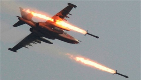 Lat lai su that 19 may bay Nga bi roi o Syria