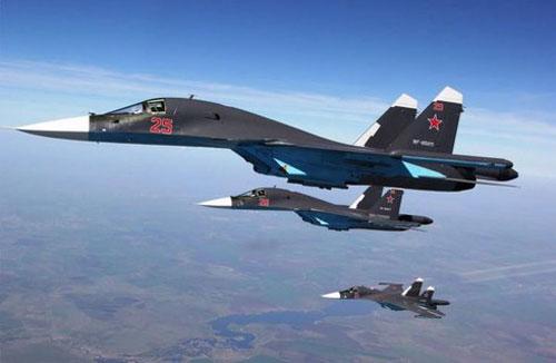 """Không quân Nga chuẩn bị tiếp nhận """"siêu cấp hậu vệ"""" Su-34NVO"""