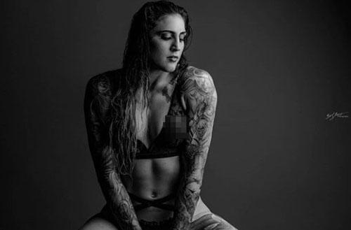 Người đẹp có nhiều hình xăm nhất UFC.