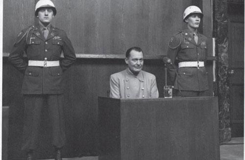 Hermann Goering tại tòa.