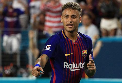 9. Neymar (2013-2017). Ảnh: El Mundo.