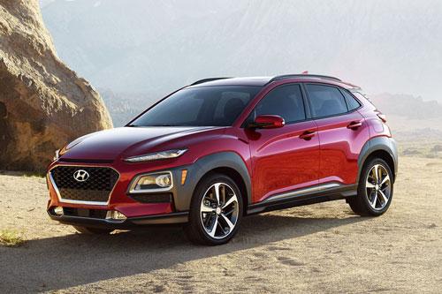 3. Hyundai Kona 2020 (giá khởi điểm: 20.300 USD).