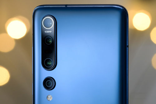 =2. Xiaomi Mi 10 Pro (124 điểm).