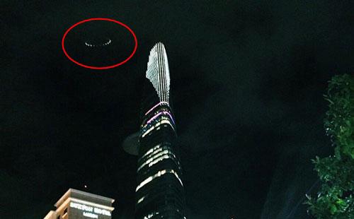 Xuất hiện đĩa bay bí ẩn trên bầu trời ở TP.HCM?