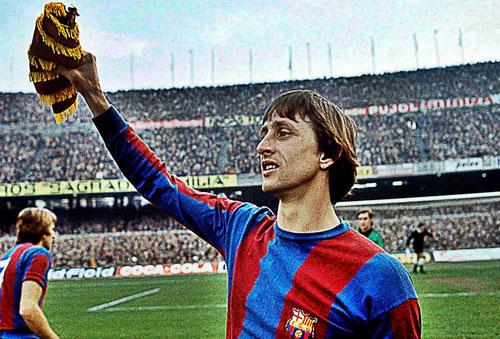 4. Johan Cruyff (1973-1978). Ảnh: FootTheBall.