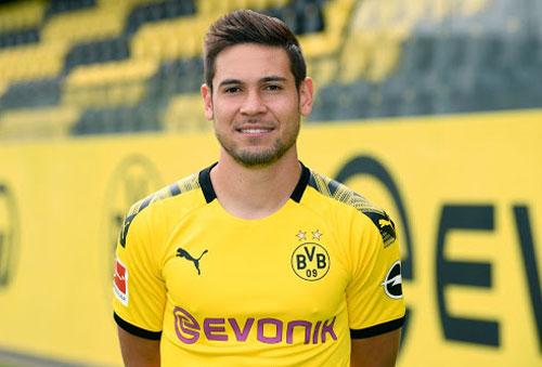 8. Raphael Guerreiro (Dortmund).