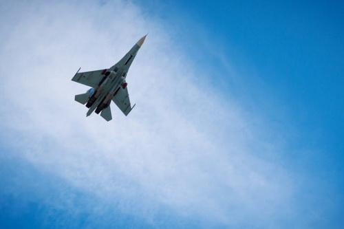 Một máy bay chiến đấu Su-27 của Không quân Nga. Ảnh: Avia-pro.