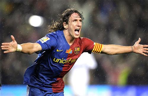 7. Carles Puyol (1999-2014). Ảnh: Telegraph.