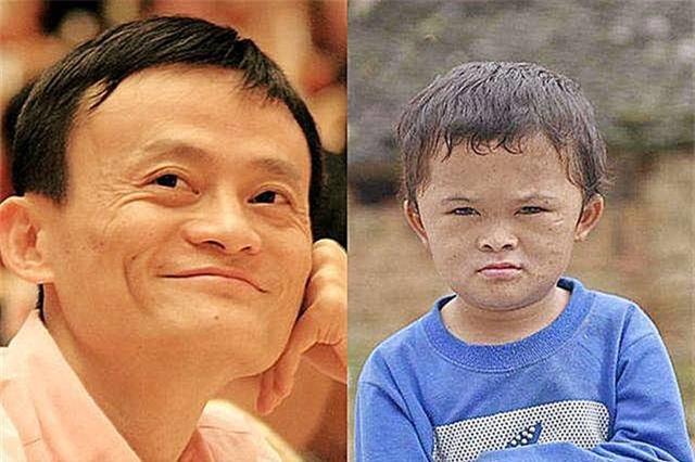 Cậu bé có ngoại hình giống Jack Ma như lột