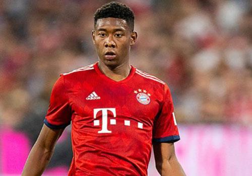 6. David Alaba (Bayern Munich).