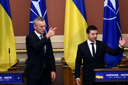 Mỹ ủng hộ việc kết nạp Ukraine và Gruzia vào khối quân sự NATO. Ảnh: Avia-pro.