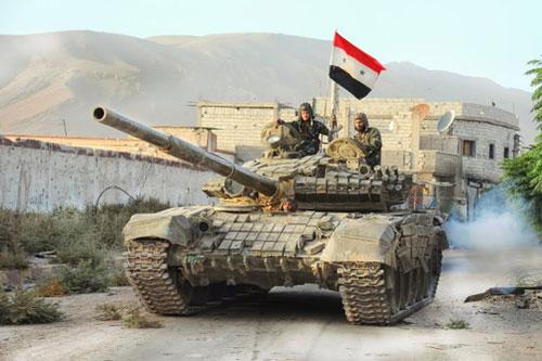 """Những tổn thất """"kinh hoàng"""" của lực lượng tăng, thiết giáp Syria"""