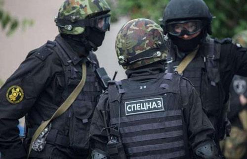 Lực lượng an ninh Nga. Ảnh: Urdupoint.