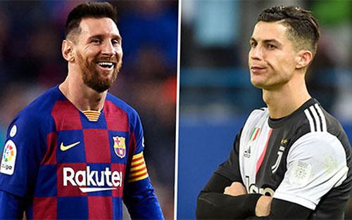 Lionel Messi và Ronaldo.