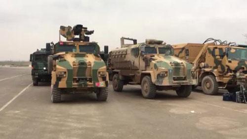 Thổ Nhĩ Kỳ điều quân tiếp viện tới Ildil.