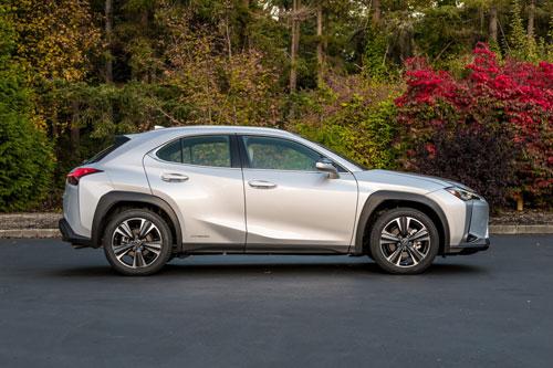 4. Lexus UX 2020 (giá khởi điểm: 33.325 USD).