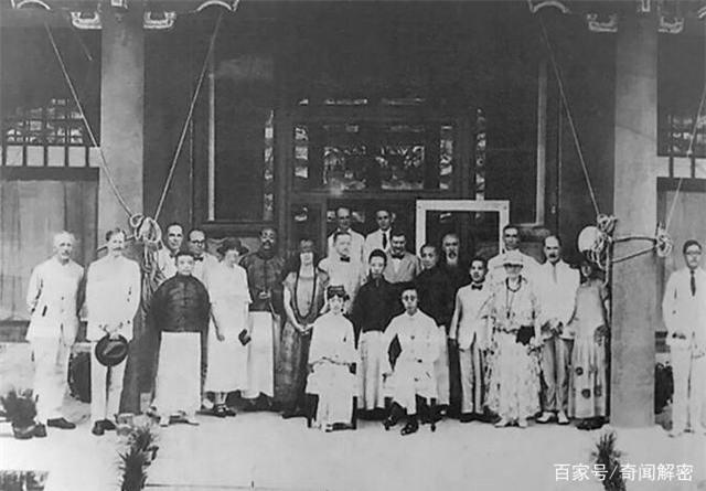 Ảnh hiếm chưa từng được hé lộ trong hôn lễ Hoàng đế Phổ Nghi - vị vua cuối cùng của nhà Thanh - Ảnh 11.