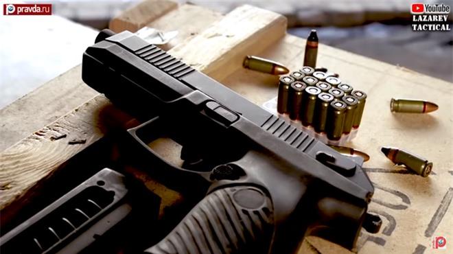 Nga chế tạo siêu súng ngắn bắn đạn 9mm cực độc: Có mặc giáp cũng như không - Ảnh 2.