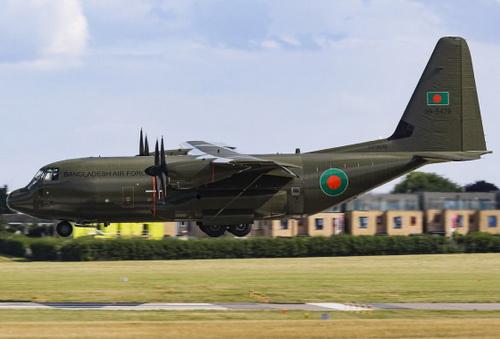 Máy bay vận tải C-130J của Không quân Bangladesh. Ảnh: Janes's 360.