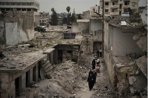 Giao tranh lớn tại Idlib, Syria