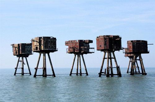 7 pháo đài quân sự bị bỏ hoang đáng sợ nhất thế giới