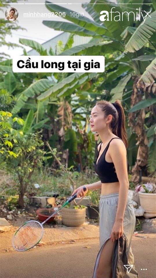 Cả loạt bài tập sáng tạo vô biên của sao Việt khi tránh dịch ở nhà, có người còn khoe cơ bụng số 11 thấy mà thèm - Ảnh 2.
