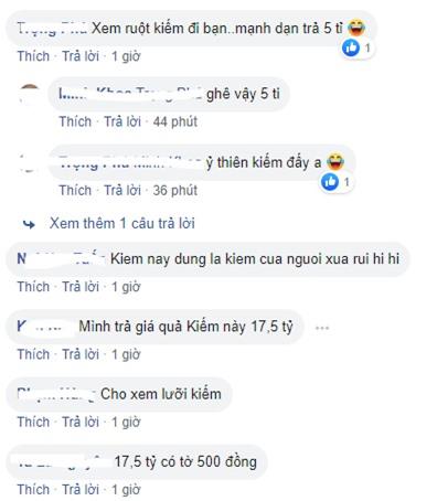 Một số bình luận của cư dân mạng.